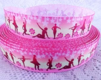 Ballet ribbon 7/8 pink ballet ribbon Ballerina Ribbon