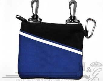 Treat Pouch - Clip-on, Zippered, Reflective treat bag - perfect for owners, trainers & working dog handlers!
