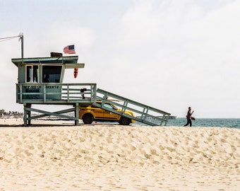 Venice Beach Photography - Los Angeles - USA - United States - Beach Photography - Lifeguard - Lookout - Fine Art Photography