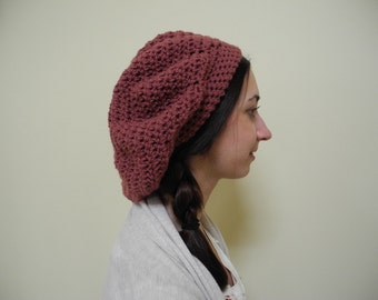 Slouchy Rose Hat
