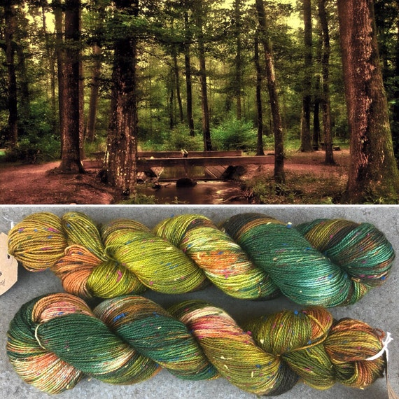 Autumn is Coming Rainbow Donegal Sock, indie dyed merino yarn