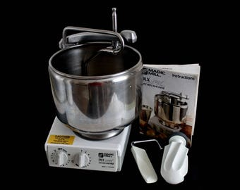 DLX9000 Magic Mill Mixer, Dough Kneader, Stand Mixer, Made in Sweden (used, see description)