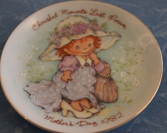 1982 Avon Mother's Day Pin Dish - Cherished Moments
