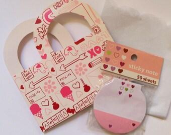 Valentine Treat Bag and Mini Notepad