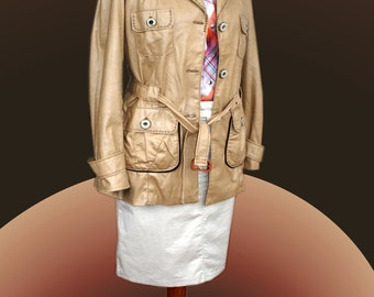 Women's trench coat beige, San Francisco. Gr. 40