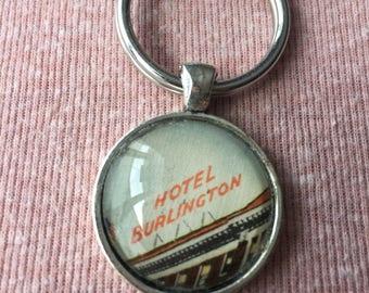 Hotel Burlington Keychain