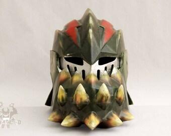 Monster Hunter Deviljho wearable 1:1 Helmet Forjadict3d Replica