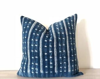Azure | Vintage Indigo Pillow