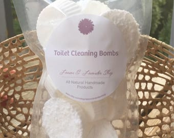 All Natural Toilet Bombs - Toilet Cleaner - 10 pc