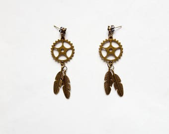 "Earrings ""Indian Spirit"""