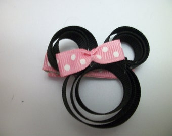 Pink Minnie Mouse Clip