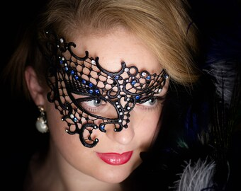 Masquerade Mask Women Lace Venetian Mask Comfortable & Sexy
