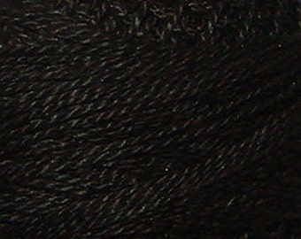 Valdani 3-Strand Cotton Floss - #1 Black