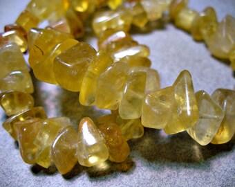 Golden Fluorite Nuggets 8-12mm