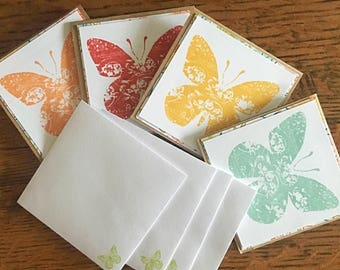 Butterfly Tags - Lunchbox Love Notes- Gift Tags - Birthday Tags - All Occasion Tags