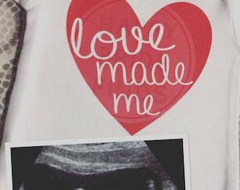 Love Made Me Onesie
