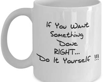 Do it yourself mug