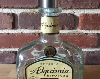 Alquimia Repsado Tequila Bottle Soap Dispenser