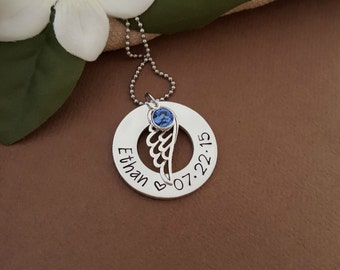 Infant Loss Sympathy Gift | Miscarriage Necklace | Remembrance Necklace For Loss Of Loved One