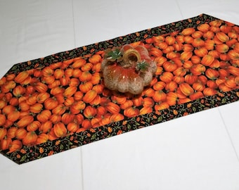 Thanksgiving table runner Handmade table runner  Fall table runner  Autumn table runner