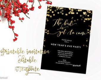 Black gold invite etsy stopboris Images