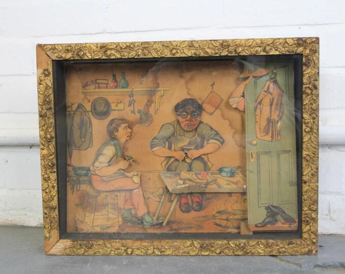 Cobblers Window Display Automatron Circa 1880s