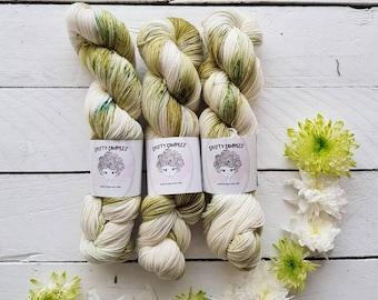 Sisu - Gorgeous Green hand dyed yarn