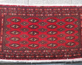 oushak small runner - rug, small rug, red decorative small rug 120 usd