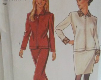Vintage Jacket and Skirt Pattern