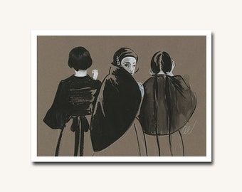 One of Us is Real But it's Not Me - archival print by Amy Earles