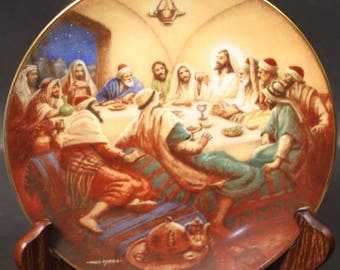 The Last Supper by Noel Syers, from the 'the Life of Christ' series from Heritage House.  (CGP-8068)