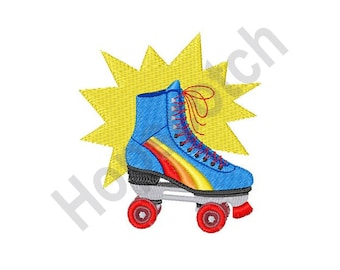 Roller Skate - Machine Embroidery Design