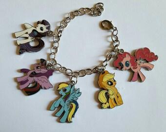 My little pony charm bracelet, my little pony jewelry.