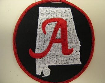 """Alabama State with an """"A"""" patch"""