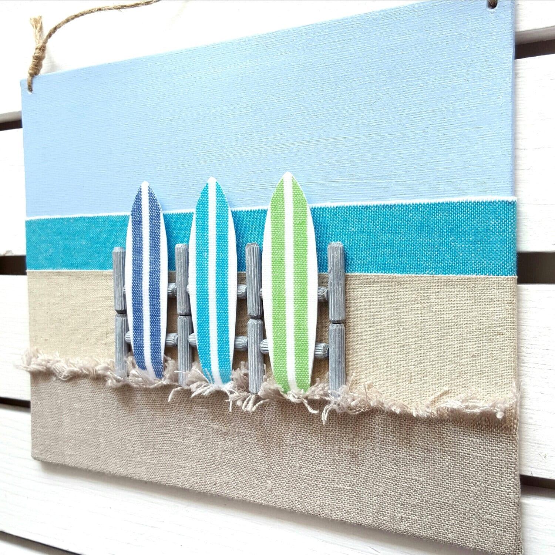 Surf Decor Surfboard Decor 3D Surf board Wall Decor Surf