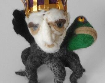 Goetia King Bael felt plushie