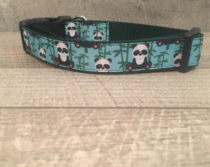"Panda's | Designer 1"" Width Dog Collar 