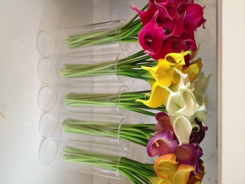 Fine silk flowers faux calla lilies bundle 9 stemsbundle zoom izmirmasajfo Image collections
