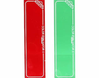 Color Evaluator II Red-Green Set, by Cottage Mills Inc
