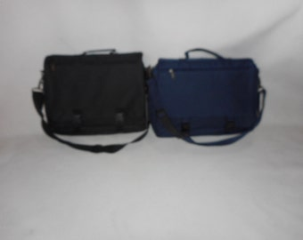 """1 Conference bag or brifecase soft side expandable from 4"""" to 6"""" wide,flap over case."""