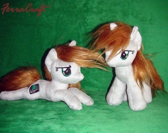 """Littlepip plushie from """"Fallout: Equestria – Project Horizons"""""""