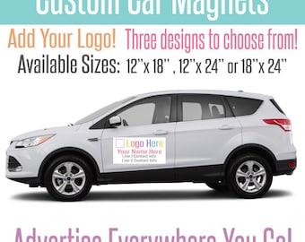 Car Magnets Etsy - Custom car magnets
