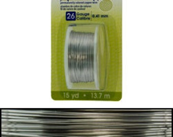 Artistic Wire Dispenser Pack Stainless Steel 26ga - 15 yards  (WR23826)