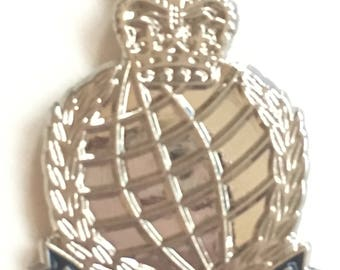The Corps of Her Majesty's Royal Marines Military Enamel Lapel Pin Badge