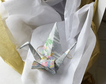 Exquisite Origami Paper Crane hanging decor - Peace Crane Gift - Origami crane - Thank you - Congratulations - Anniversary - Get well -#B3HG