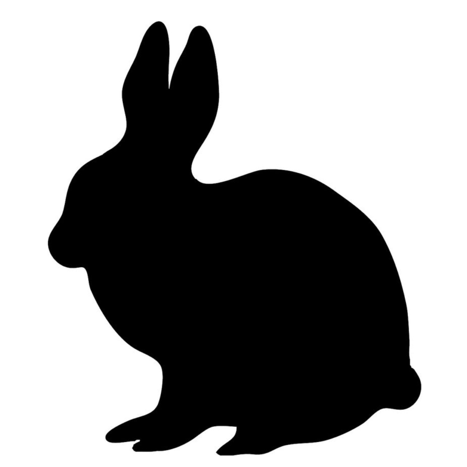 Pack Of 3 Rabbit Stencils Made From 4 Ply Mat Board 11x14