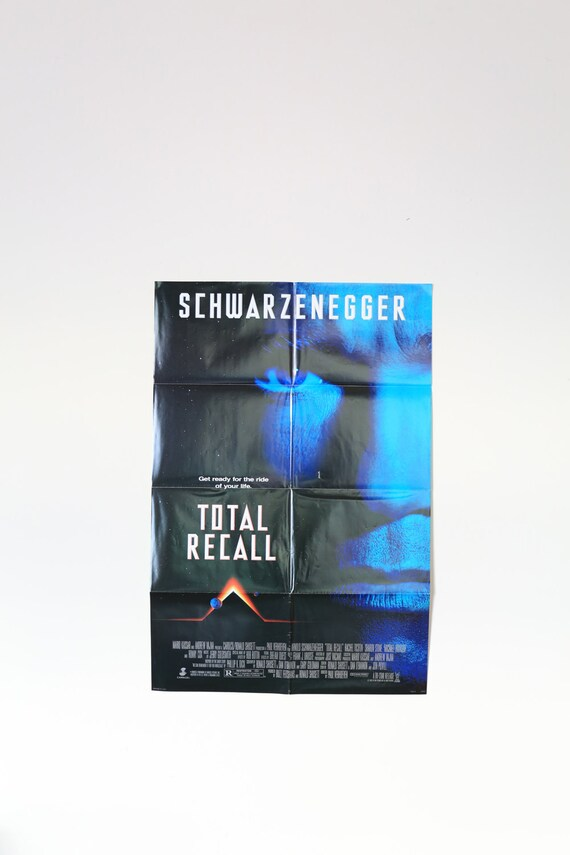 Original Theatrical One Sheet Film Poster - Total Recall