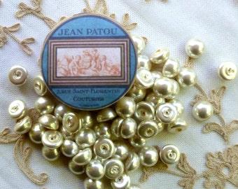 Vintage Glass Pearl Embellishments