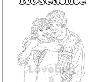 entrevista roseanne coloring pages | Firefly & Serenity Coloring Book // Instant Printable Digital