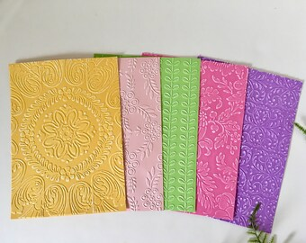 Embossed 5x7 Card Stock
